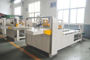 Semi-Automatic Corrugated Box Folding Gluing Machine pictures & photos