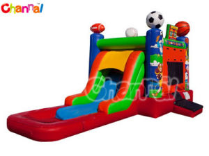 Ez Sports Inflatable Bouncer with Water Slide Bb272 pictures & photos