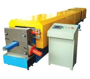 Hot Sale Downspout Galvanized Steel Pipe Bending Roller Forming Machine pictures & photos
