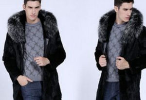 New Winter Faux Rabbit Fur Coat for Men Fur Jacket pictures & photos