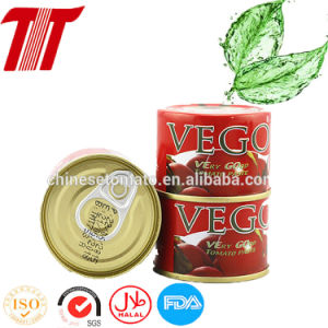 70g Canned Tomato Paste with Double Concentrated pictures & photos