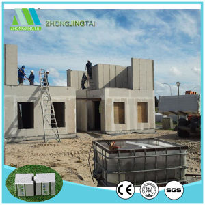 Great Compressive Strength EPS Cement Sandwich Wall Panel for Building/ Engineering Contractor/ Project Builder pictures & photos