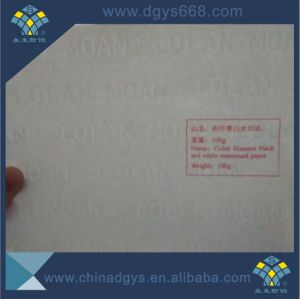 Custom Design Watermark Paper Security Certificate Printing pictures & photos