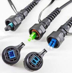 LC Duplex Waterproof Fiber Optic Connector pictures & photos