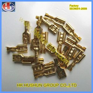 Brass Bullet Female/Male Terminal From China (HS-DZ-0048) pictures & photos
