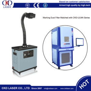 Sealed Environmental Motorized Z Axis UV Marking Laser Machine with Dust Filter pictures & photos