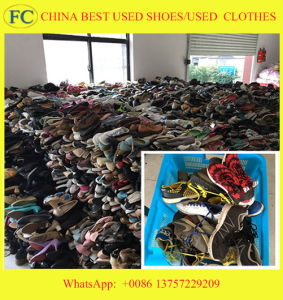 Best Qualtiy Cheap Wholesale Used Sports Shoes for African Market pictures & photos