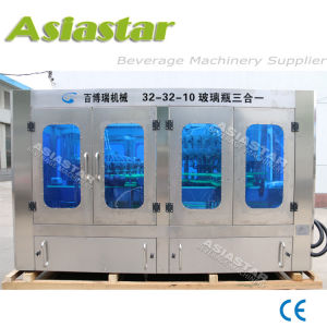 Stainless Steel Good Price Automatic Glass Washing Bottling Machine pictures & photos