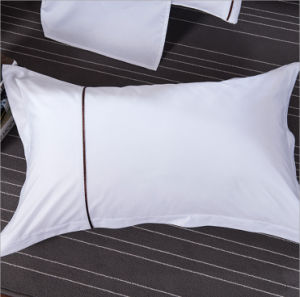 High Quality 100% Cotton Hotel Textile Bedding Linen Bed Sheet Set pictures & photos