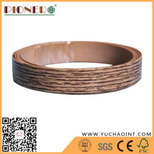 1.5X22mm Wood Grain PVC Edge Banding for Furniture pictures & photos