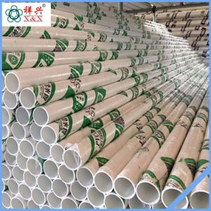 White Grey Water Supply PVC Tube pictures & photos