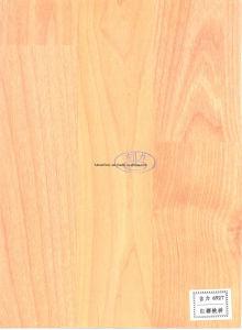 8.3mm HDF Laminate Flooring Teak Color 6638 pictures & photos