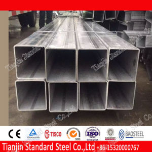 AISI 304 Ss Round / Square / Rectangular Pipe (Mirror and Polished) pictures & photos