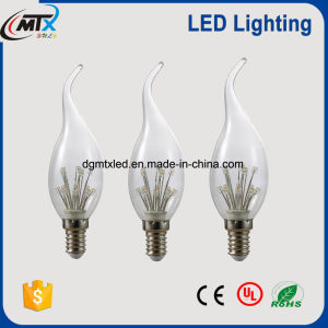 Ceiling lamp E14 Base Candle Light C35 LED Tail Bulb pictures & photos