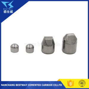 Eccentric Wedge Tungsten Carbide Button for Mining and Oil-Field Drill Bits pictures & photos