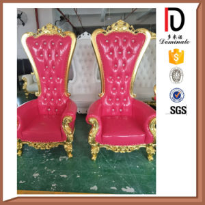 Manufacturing Wood Manual Sculpture Throne Chair Br-LC030 pictures & photos