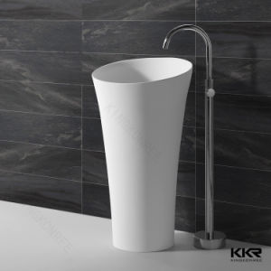 Freestanding Resin Commercial Hand Wash Basin pictures & photos