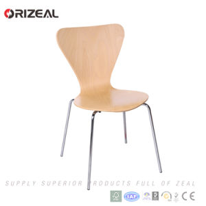 Plywood Stacking Chair Manufacturer Oz-1023 pictures & photos