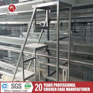 Low Cost Steel Wire Mesh Chicken Layer Cage for Poultry Shed pictures & photos
