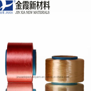 FDY Dope Dyed 1000d/288f Filament Polyester Yarn pictures & photos