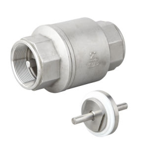 Ss Vertical Lift Type Check Valve pictures & photos