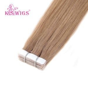 Virgin Human Hair Extension, 8A Brazilian Remy Tape in Hair pictures & photos