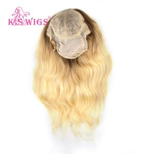 Front Lace Wig Virgin Brazilian Human Hair pictures & photos