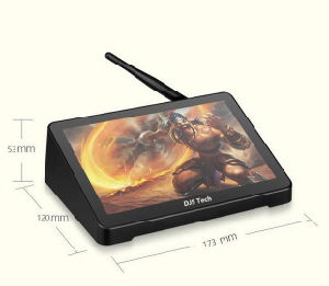 The Newest Mini PC with Touch Screen 4G DDR3memory pictures & photos
