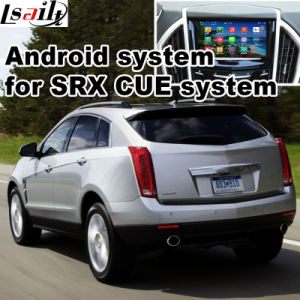 Android 4.4 GPS Navigation Box for Cadillac Srx Cue System Video Interface Box Waze Youtube pictures & photos
