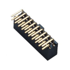 2.54mm Female Header Standard PA9t Black pictures & photos