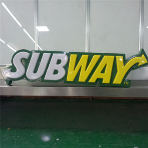 Advertising Outdoor Strong Sound Wohle Sale 3D Embossed Wall Mounted Billboard pictures & photos