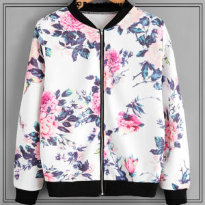 2017 New Sports Wear Women Dry Fit Black Sports Jackets pictures & photos