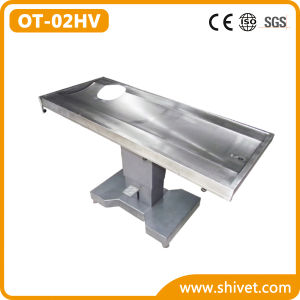 Hydraulic Operating Table for Animal Heart (OT-02HV) pictures & photos