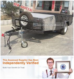 New Walking Through Camper Trailer with Multifunction Kitchen pictures & photos