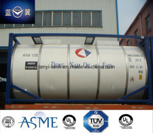 T11 26000L Tank Container for Food, Edible Oil, Water Approved by BV, Lr, CCS