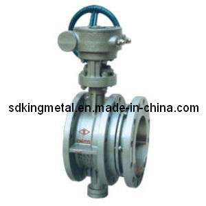 Worm Gear Expansion Butterfly Valves pictures & photos