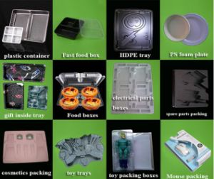 PP Material Automatic Plastic Thermoforming Machine for Lid/Cover/Tray/Lunch Box pictures & photos