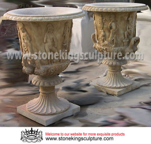 Marble Urn & Stone Urn, Marble Flowerpot and Marble Planter (SK-2536) pictures & photos