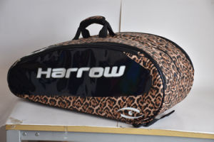 Custom Leather Tennis Bags for 9 Racquet pictures & photos