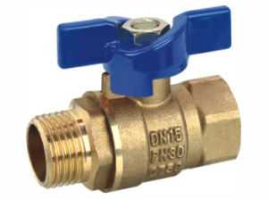 Bsp Threaded End Brass Ball Valve (YD-1045) pictures & photos