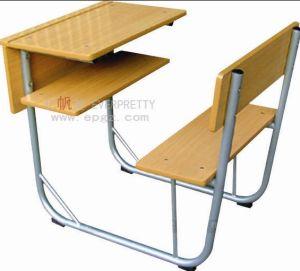 School Desk Manufacturer Metal Frame School Desk Chair Sf-49f pictures & photos