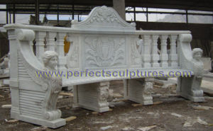 Antique Stone Marble Chair for Garden Outdoor Furniture (QTC072) pictures & photos
