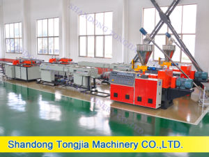 PVC Water Gas Rigid Pipe Making Line (JG-XCG) pictures & photos