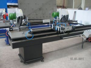 Double Mitre Saw for PVC Profile / PVC Profile Cutting Machine pictures & photos