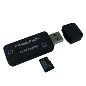 TF/Micro SD/SIM Card Reader (FS-S03)