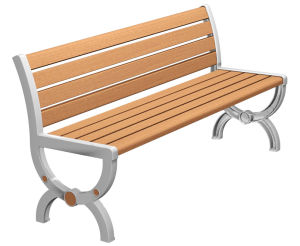 New Style Park Bench in Summer pictures & photos