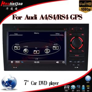 Car DVD Player for Audi S4/A4 (2002-2008) with Tmc DVB-T Video Bluetooth pictures & photos