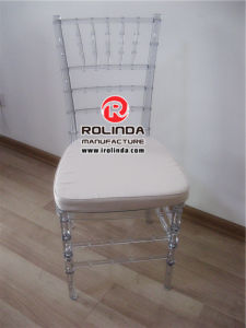 Classy Resin Chiavari Chair with Seat Pad pictures & photos