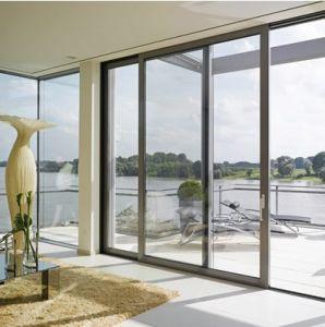 Elegant Design Aluminum Sliding Door From China pH-8817) pictures & photos