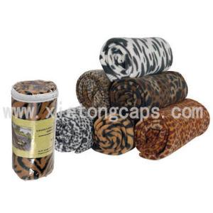 Polar Fleece Blanket With Animal Skin Print(JRL021) pictures & photos